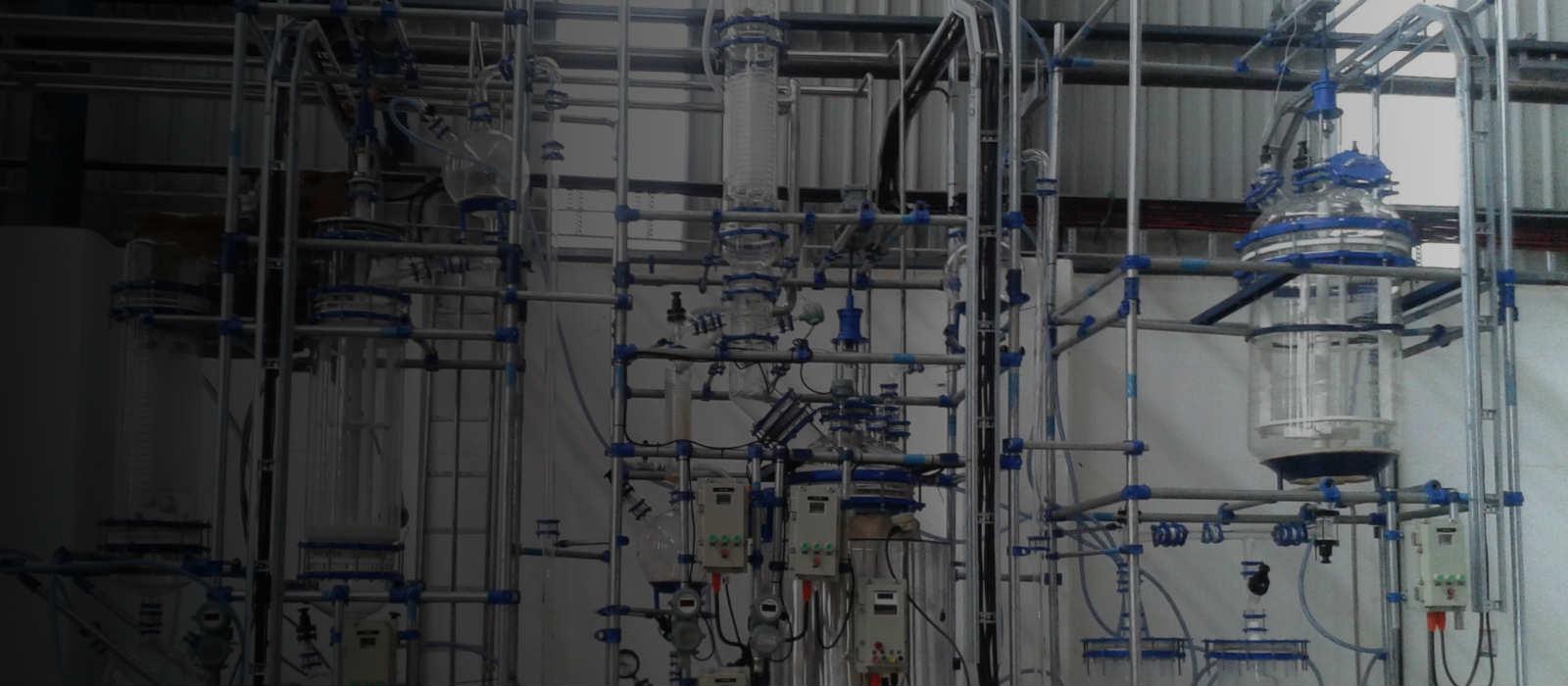 Glass Pilot plant